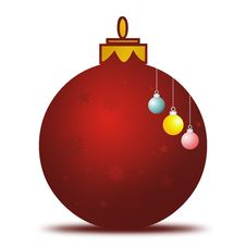 Free Xmas Ball Royalty Free Stock Photo - 6502205