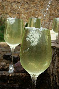 Free White Wine Fountain Stock Photos - 6503293