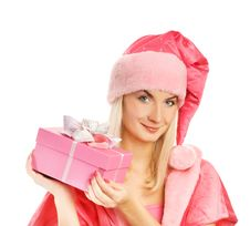 Free Beautiful Mrs. Santa Stock Photography - 6503322