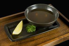 Free Tea In Black Stock Image - 6503381