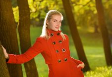 Free Beautiful Young Woman Outdoors Royalty Free Stock Photography - 6503487