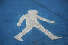 Pedestrian Royalty Free Stock Image