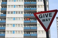 Free Give Way Royalty Free Stock Photos - 6503858