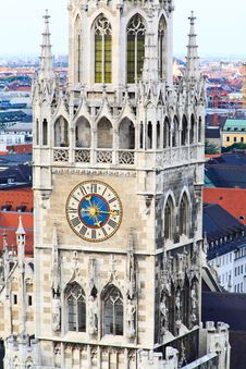 Free The Aerial View Of Munich City Center Stock Photos - 6504593
