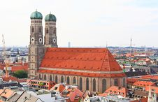 Free The Aerial View Of Munich City Center Stock Image - 6504651