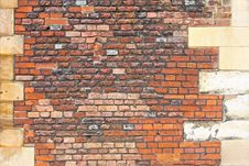 Free Castle Brick Wall Stock Photos - 6504673