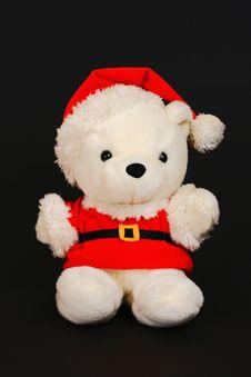 Free Santa Teddy Bear 2 Royalty Free Stock Photo - 6505055