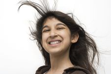 Free Beautiful Smiling Elementary Girl Royalty Free Stock Photos - 6505388