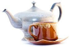 Free Kettle And Pip-kin Tea Royalty Free Stock Image - 6505886