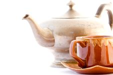Free Kettle And Pip-kin Tea Royalty Free Stock Photo - 6505895