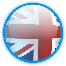 Free Button Flag (Great Britain) Stock Images - 6507514