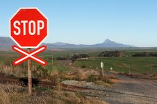 Free Stop Sign Royalty Free Stock Image - 6507576