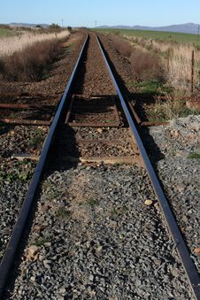 Free Rail Road Track Stock Images - 6507884