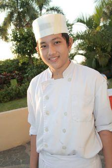 Free Chef At Buffet Royalty Free Stock Photos - 6507968