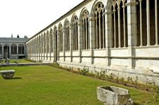 Free Isolated Monumental Cemetery In Pisa Royalty Free Stock Photos - 6507978