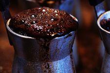 Free Turkish Coffee. Stock Image - 6508261