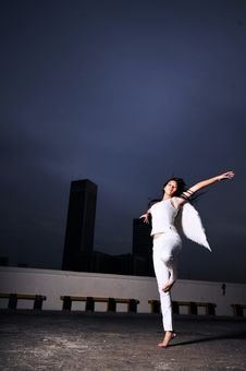 Free Descending Angel 3-1 Royalty Free Stock Photography - 6508437