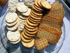 Free Biscuit Platter Royalty Free Stock Photo - 6508455