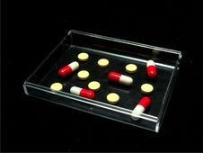 Tablets And Capsules Stock Image