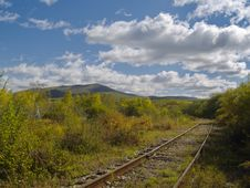 Free Old Railway Track Royalty Free Stock Photo - 6508985
