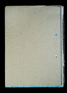 Free Old Spiral Notebook. Royalty Free Stock Photo - 6509055