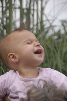 Free Ecstatic Baby Stock Photography - 6509272