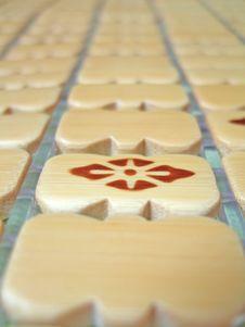Free Bamboo Mat Royalty Free Stock Photo - 6509685