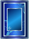 Free Silver Blue Classic Stock Image - 6510821