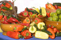 Free Bowl Of Multicolored Peppers Royalty Free Stock Images - 6511659