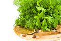 Free Green Parsley Stock Image - 6513461