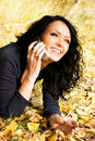 Free Pretty Laughing Girl Talking On The Cellphone Stock Photo - 6516660