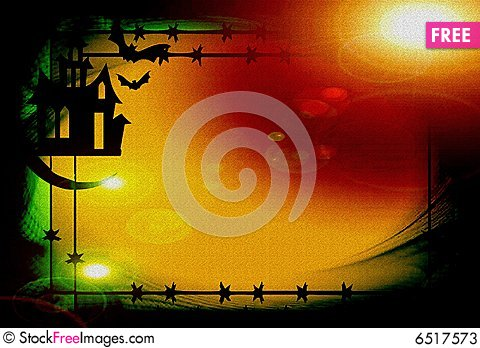 Free Hallowen Background Stock Photos - 6517573