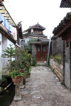 Free Lijiang ,a Beautiful Small Town In China Royalty Free Stock Image - 6510306