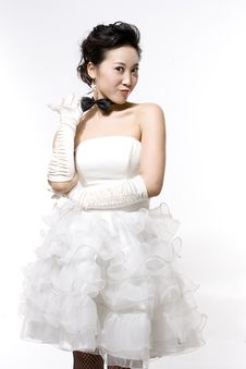 Free Chinese Bride Royalty Free Stock Image - 6510536