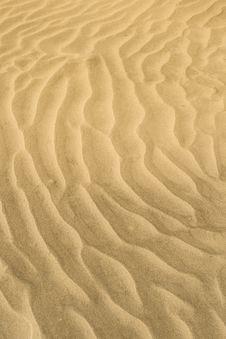 Free Sand Waves Royalty Free Stock Image - 6511026