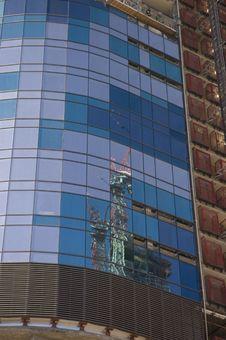 Free Reflection Fron A Building Stock Photos - 6511133