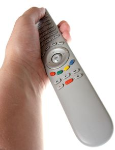Free Infrared Remote Control In Hand Royalty Free Stock Image - 6511326
