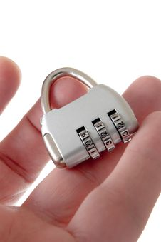 Free Lock In Hand Stock Images - 6511574
