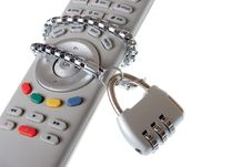 Free Infrared Remote Control And Lock Royalty Free Stock Image - 6511606