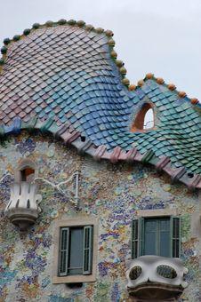 Free Gaudi´s Casa Battlo In Barcelona Royalty Free Stock Images - 6511759