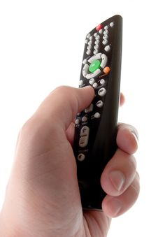 Free Infrared Remote Control In Hand Stock Photos - 6511863