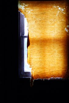 Free Old Window Shade Stock Photos - 6512413