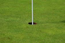 Free Golf Hole (center) Royalty Free Stock Photography - 6512767