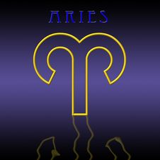 Free Aries Card Royalty Free Stock Image - 6512916