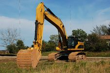 Free Heavy Excavator. Royalty Free Stock Photography - 6512977