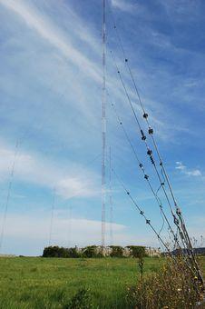 Radio Tower. Stock Photo