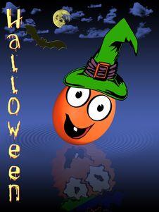 Free Halloween Illustration Stock Photo - 6513090