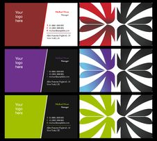 Vising Cards - Two Sided - 11 Royalty Free Stock Photos