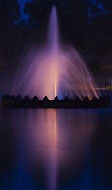 Fountain Delight Stock Photography