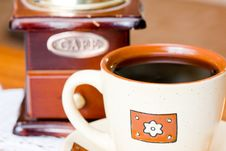 Free Coffee Mill Royalty Free Stock Photography - 6513947